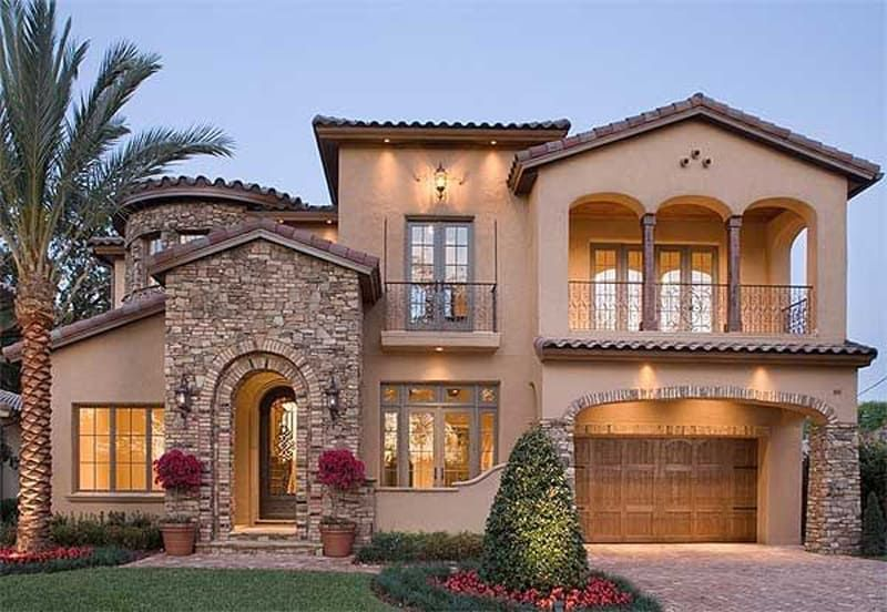 40 Spanish Homes For Your Inspiration Mediterranean House Plan Florida House Plans Mediterranean Homes