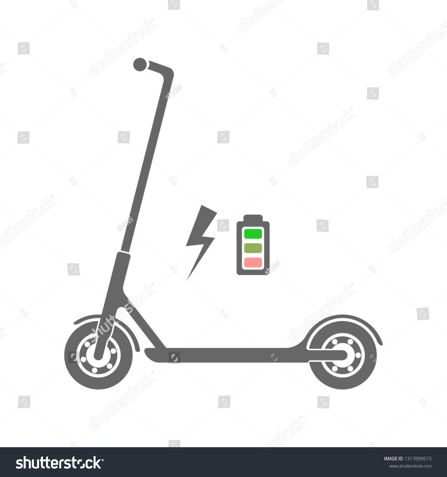 electric scooter icon illustration vector ad spon scooter electric icon vector icon illustration graphic illustration illustration electric scooter icon illustration