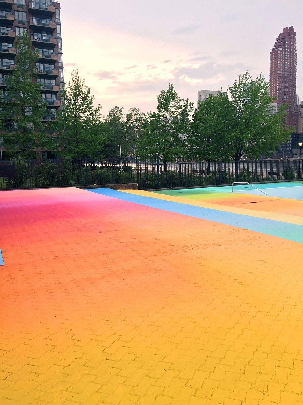 뉴욕, 레인보우 수영장