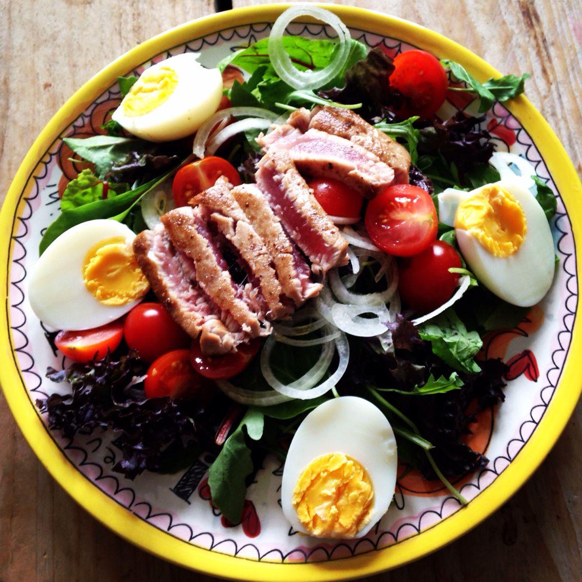 Healthy Lunch salad tuna