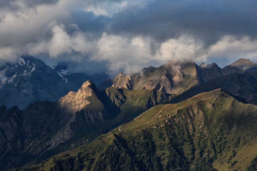 Wolken über dem Pfitschtal von Mikiitaly