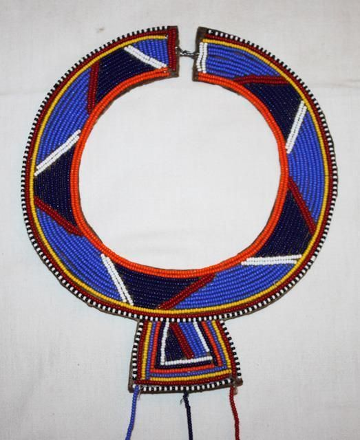 African Maasai Masai Beaded Ethnic Tribal Wedding Necklace