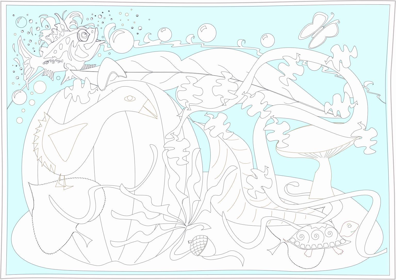 End Of Summer Coloring Pages Lovely Swim Yellow Duck Art