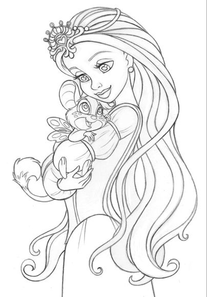Http Www Jgoliverstudio Com Img Prod Dawn Pix Jpg Princess Coloring Pages Disney Coloring Pages Colorful Drawings