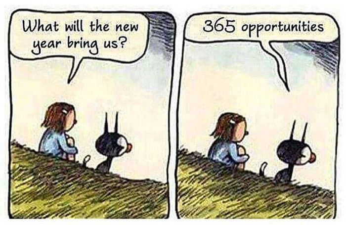 What will the new year bring us?