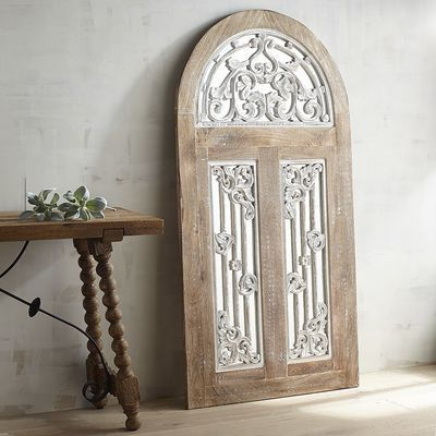 Sophia Arched Mirrored Wall Decor Mirrors Arched Wall