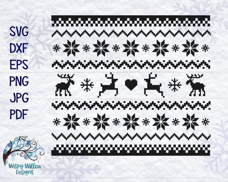 33+ Christmas sweater svg free ideas