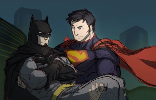 bruce wayne and clark kent relationship