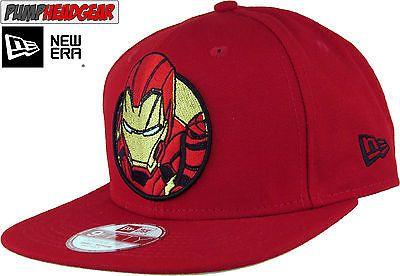 1f5f290b530 Iron man  civil war new era 950  retroflect  snapback cap