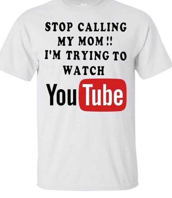 d3d602389 Im Trying To Watch YouTube - Funny Kids Shirt - Quote Shirts - Funny Sayings