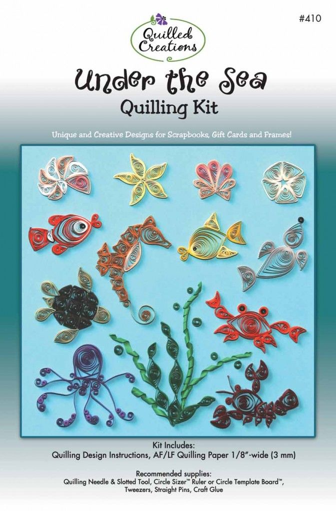 Quilling Designs by the Sea Quilling Kit