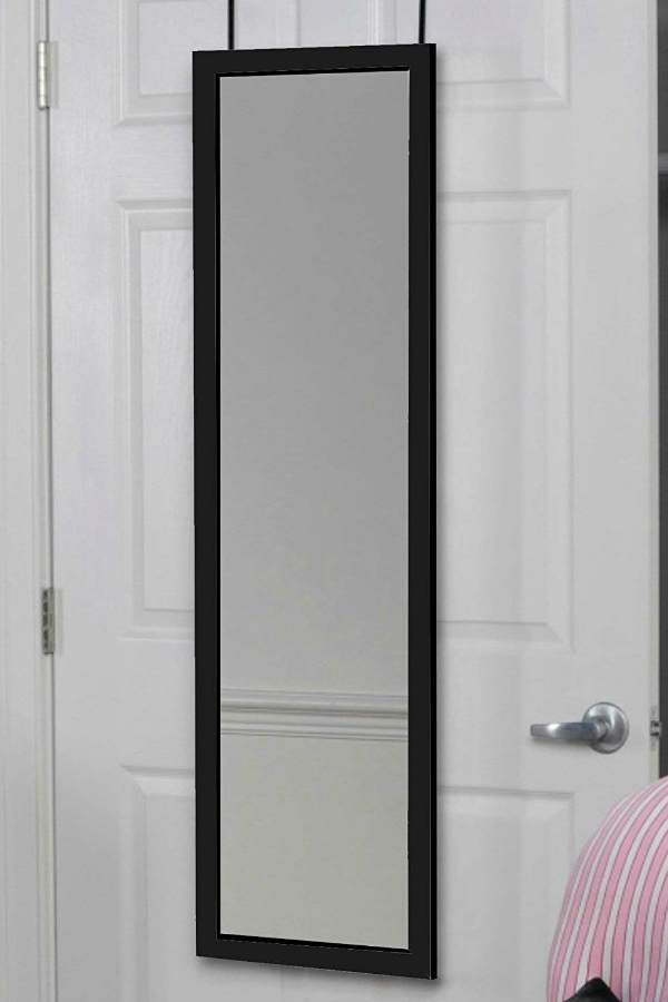 Over The Door Hanging Mirror 14 X 42 52 43 Free Shipping In 2020 Hanging Mirror Door Hanging Mirror