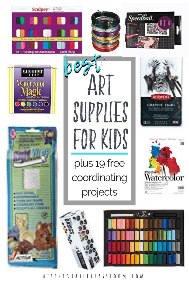 Top Ten Art Supplies To Inspire Your Creative Child Art Child