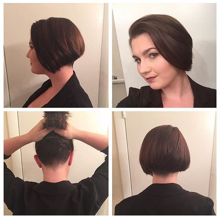 Found On Bing From Www Pinterest Com Thick Hair Bob Haircut Undercut Bob Haircut Undercut Hairstyles