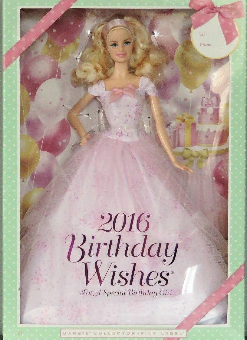 Happy Birthday Barbie 2016 Patrones de barbie, Barbie