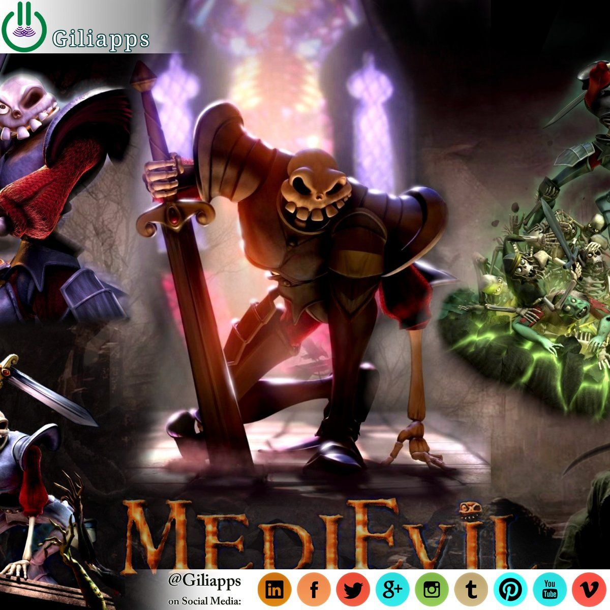 Watch The First Trailer For Medievil For Playstation 4 Retro Arcade Playstation Wallpaper