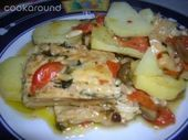 Photo of Dried cod with potatoes-Baccalà in umido con patate  Stewed …