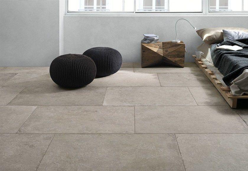 Pavimento in gres porcellanato effetto pietra castle ceramiche
