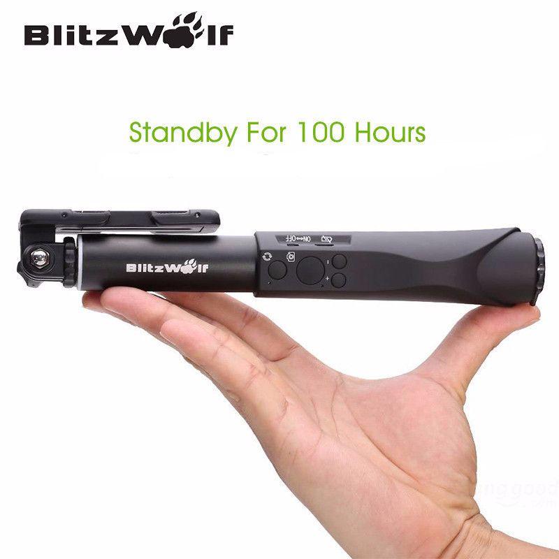 Nyt on upeaa uutuutta tarjolla: BlitzWolf Bluetoo... käy tarkastamassa osoitteessa http://covery.fi/products/blitzwolf-bluetooth-selfie-stick