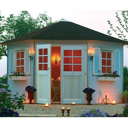 Nice Solid Tuinhuis U0027Nancy IIIu0027 Hout 7,78 M² | Brico