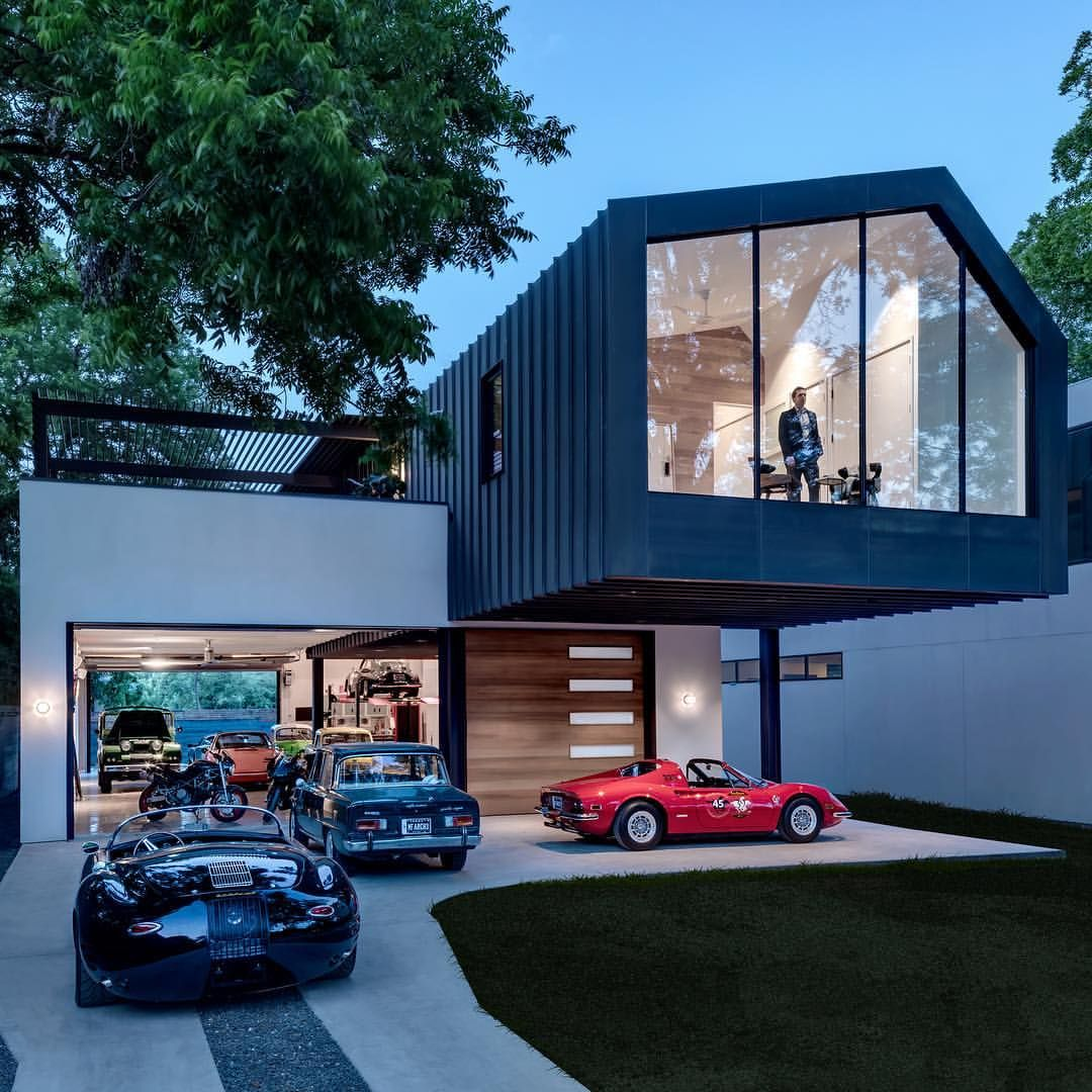 Office Garage By Ultra Architects: Just Got The Pro Pics Of Our #autohaus Project With