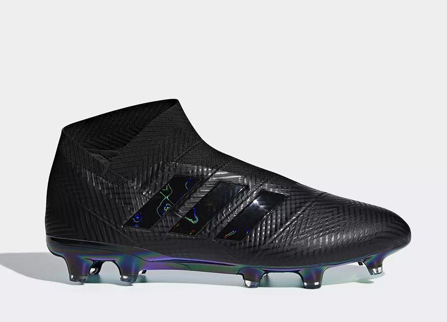 super popular 9aedc f419d  football  soccer  futbol  adidasfootball  footballboots Adidas Nemeziz 18+  FG Shadow Mode - Core Black   Core Black   Ftwr White