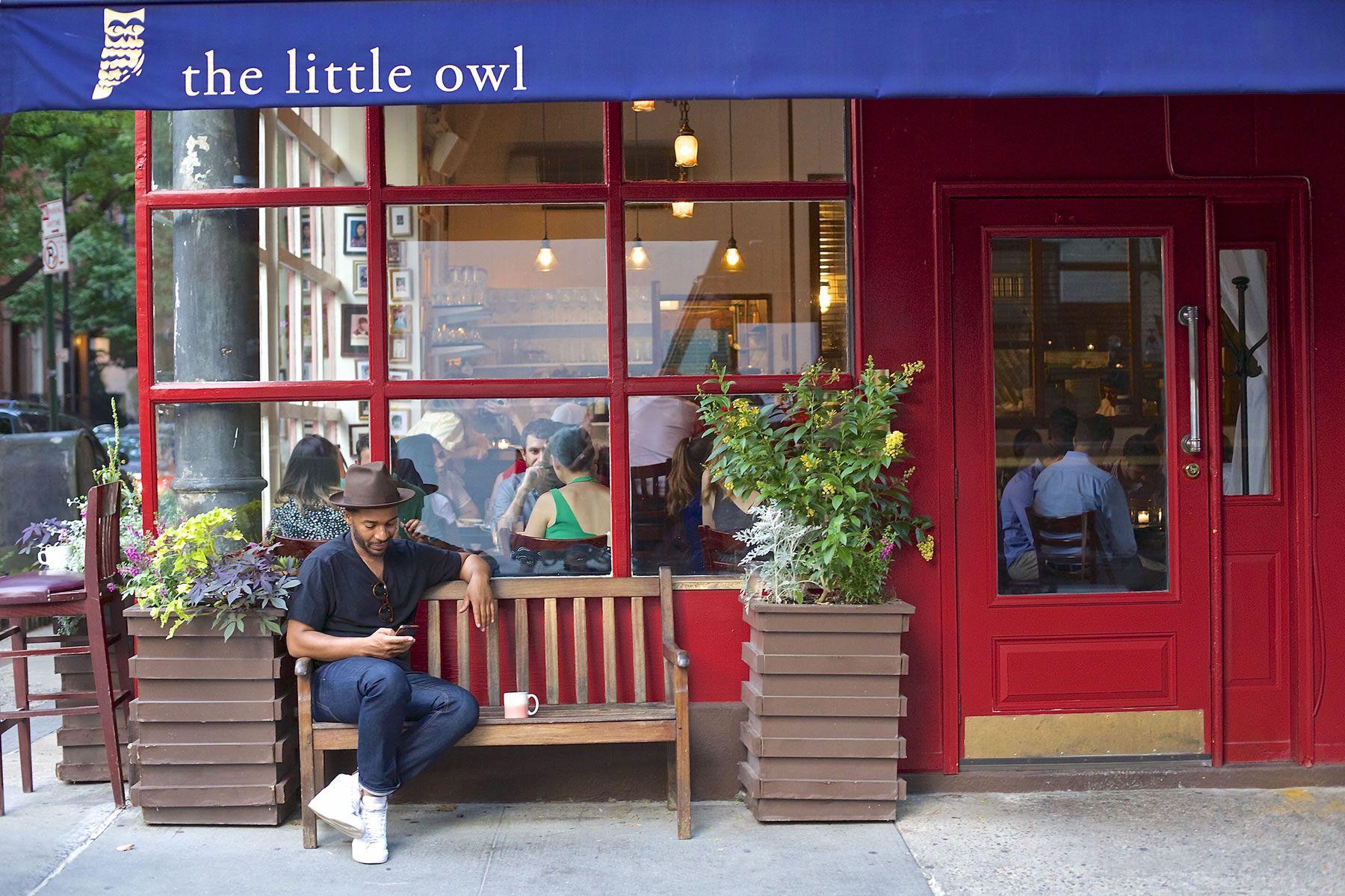 Little Owl Restaurant On Bedford St In Greenwich Village Manhattan Restaurants Little Owl Visiting Nyc