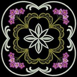 Heirloom Flower Quilt 2