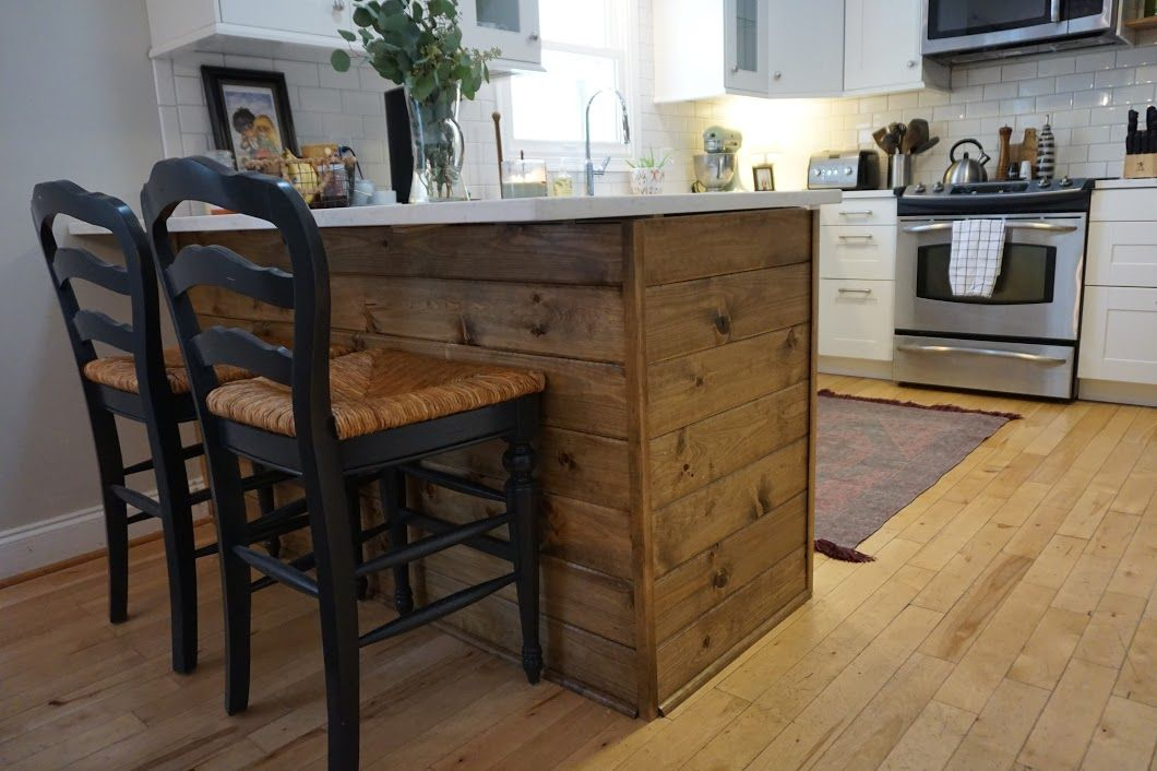 IKEA Kitchen Peninsula - Making it Ours - Dahlias and Dimes MY