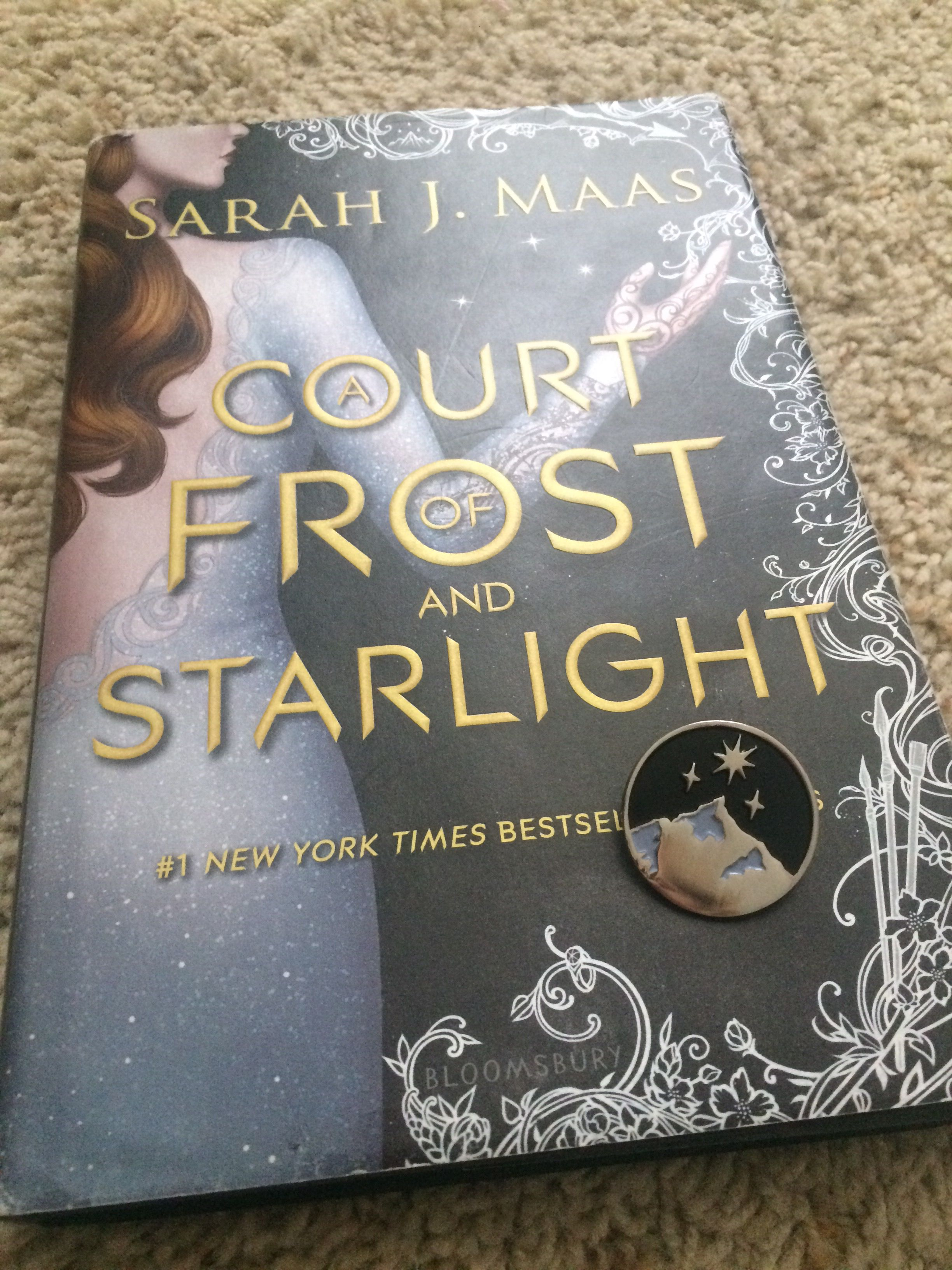 Finally Got My Night Court Pin From Preordering Acofas Sarah