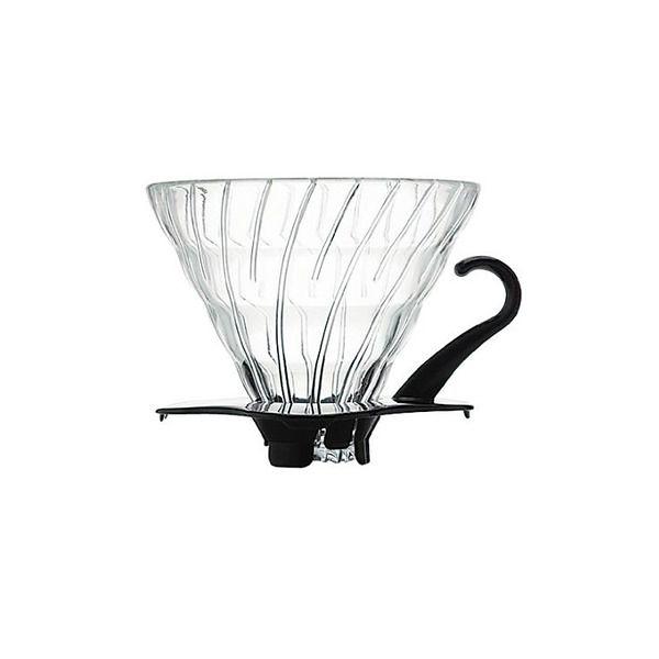 Hario V60 02 Black Glass Dripper