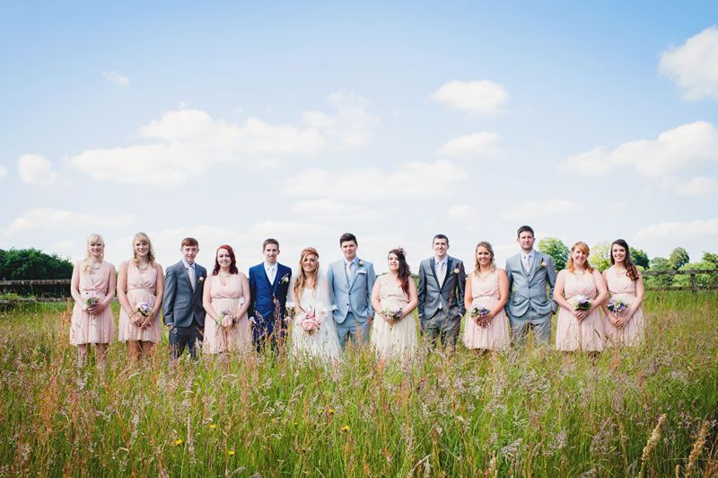 Pip and Paul's big wedding with a small budget