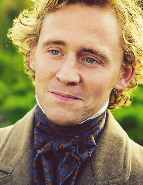 Tom Hiddleston as William Buxton in Return to Cranford