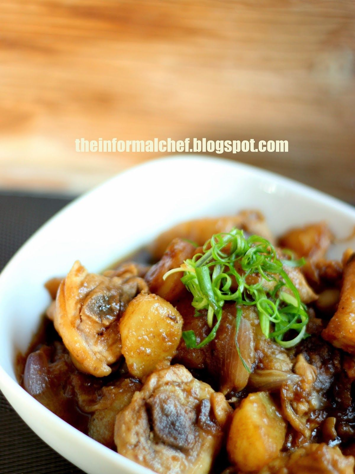 The Informal Chef: Stir-Fry Potato Chicken 马铃薯炒鸡