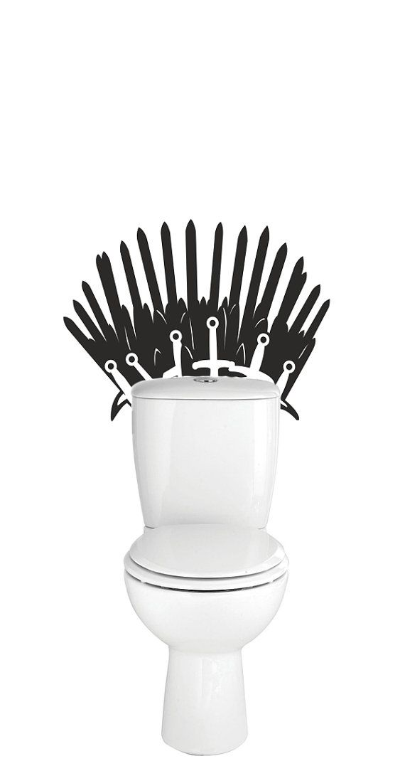 Jeu Des Trones Games Of Thrones Sticker Mural De Fer Trone