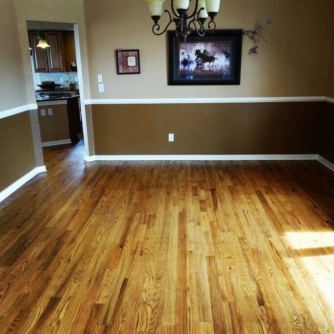 Sand Refinish Maple Hardwood: Nutmeg Stain On Red Oak …