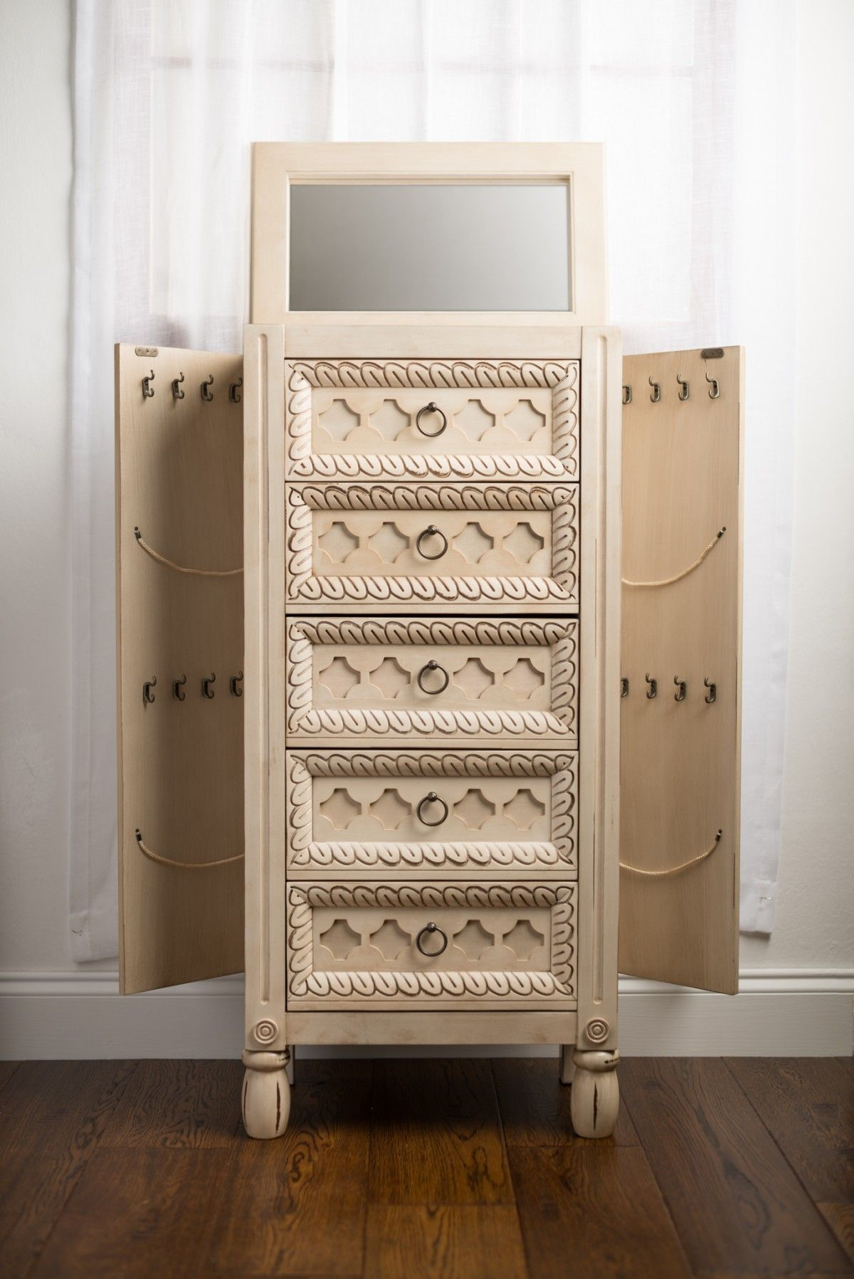 Hives And Honey Jewelry Armoire For Pretty Home Interior Kmart