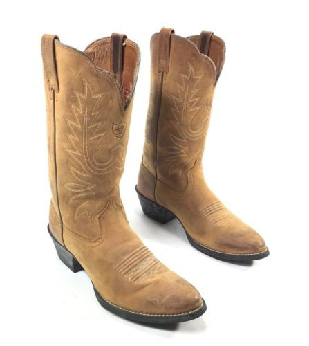 Ariat Heritage Western Brown Leather Cowboy Boots Women's Size 7B https://t.co/3Zie56vA8L https://t.co/Ck3gTAgK4S