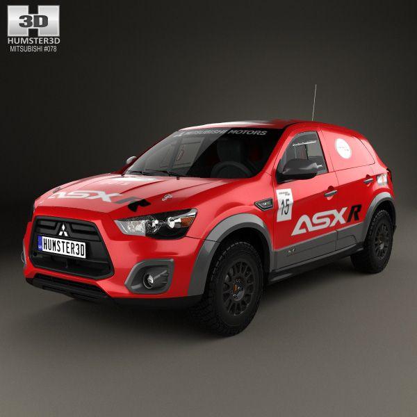 3D Model Of Mitsubishi ASX R 2015