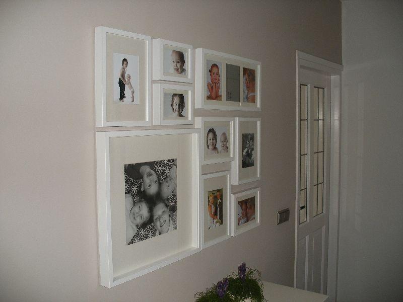 Fotomuur   ideeën voor in huis   Pinterest   Fotowand und Flure
