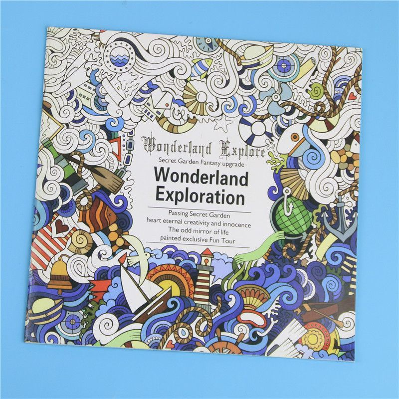 Coloring Books Wonderland 24 Pages