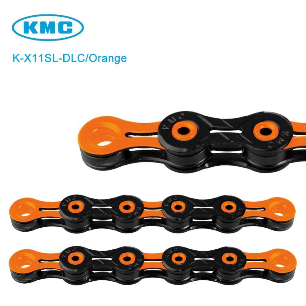 Chain Kmc X11sl Dlc 11 Speed Orange Orange Chain Speed