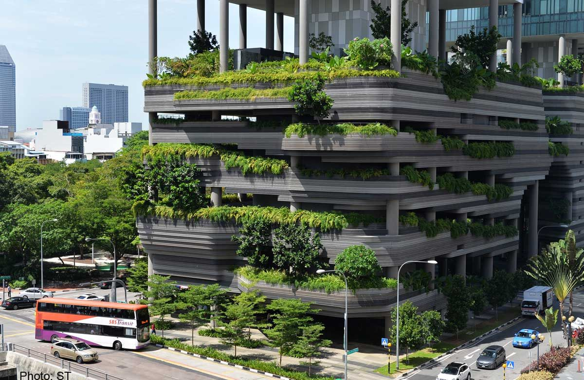 park royal tower Google 搜索 Vertical garden, Large