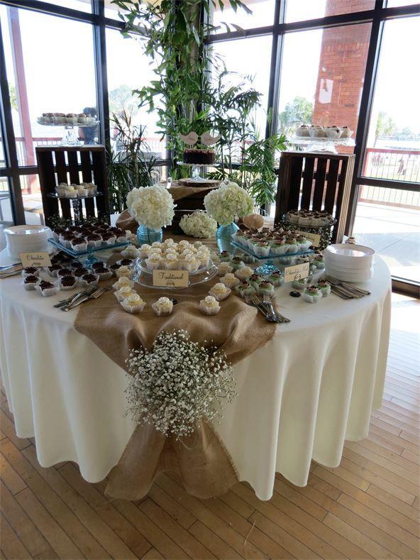 Rustic Dessert Table Vintage Shabby Chic Wedding Decorations