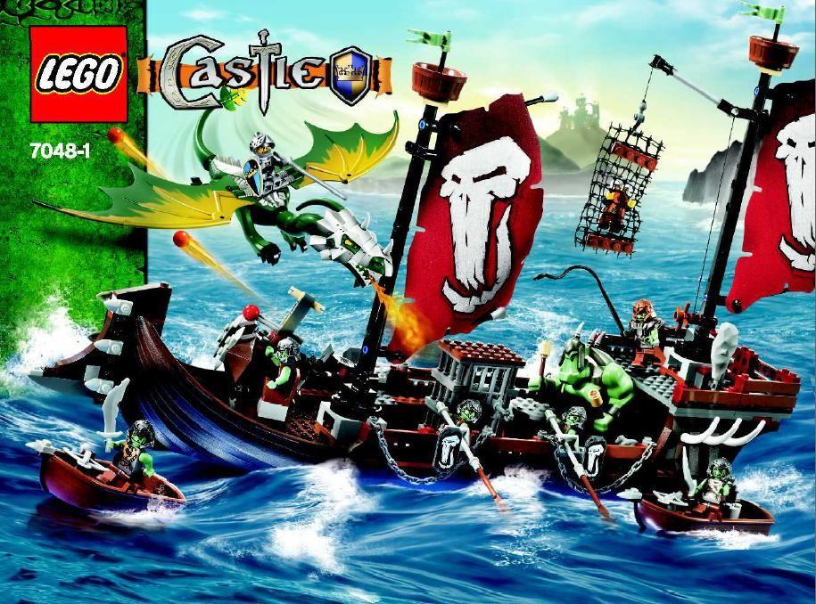 Castle - Troll Warship [Lego 7048] | Lego Sets of Epicness ...