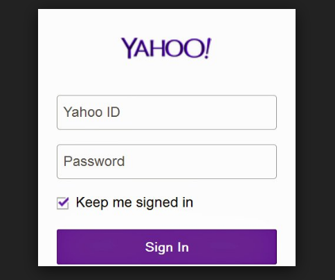 Yahoo Mail Box Sign in in 2020 | Box signs, Mail sign, Mailing