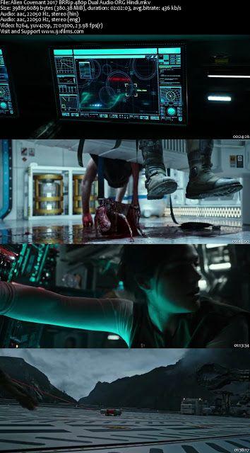 Alien Covenant 2017 Brrip 480p Dual Audio Org Hindi 9xfilms Action