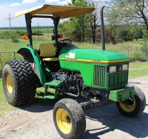 john deere 5300, 5400 and 5500 tractors diagnosis and tests service manual  (tm4542)