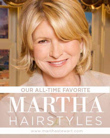 The Martha Stewart Look Book Hairstyles Medium Hair Styles Hair Styles Medium Short Hair