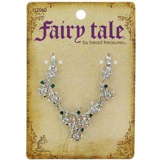Fairy Tale by Bead Treasures Silver  Green Flower Pendant Connector | Shop Hobby Lobby